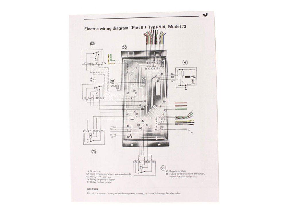 medium resolution of wiring diagram 1973 914