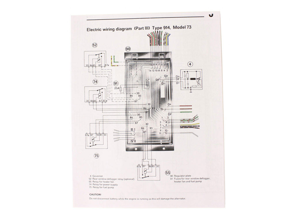 hight resolution of wiring diagram 1973 914