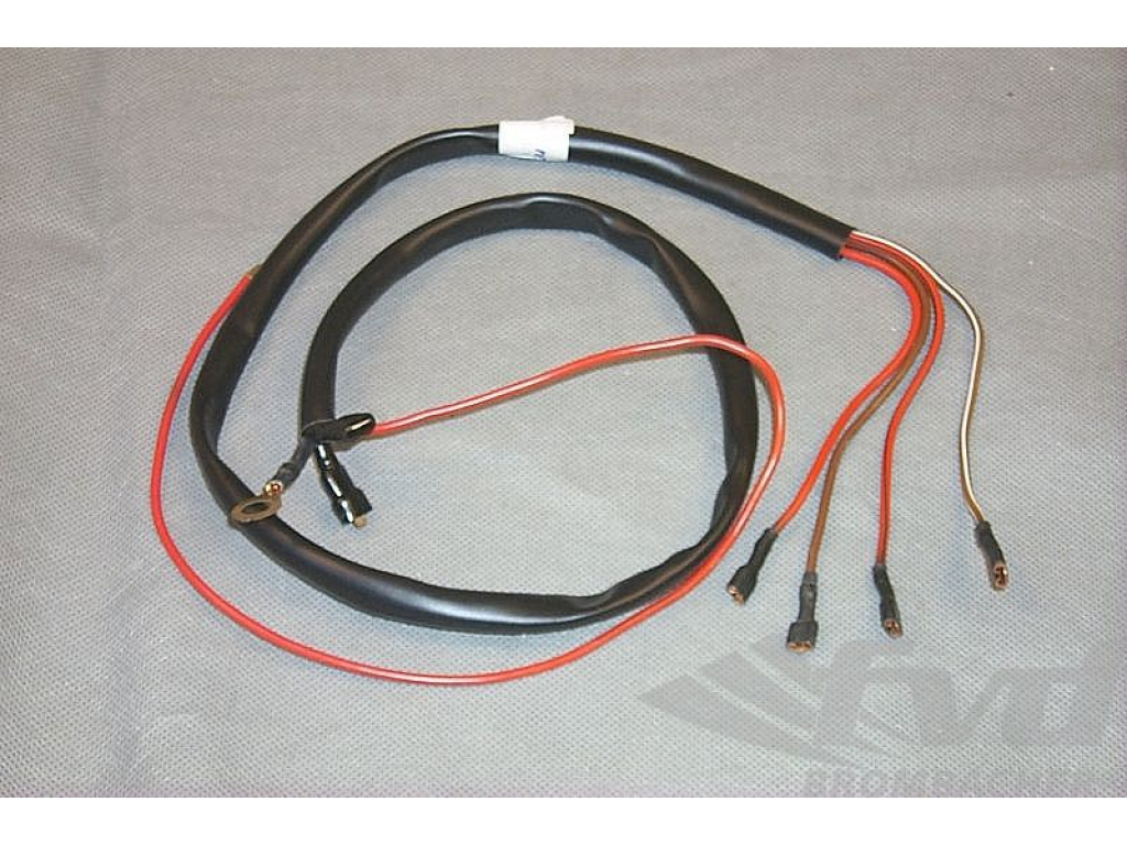 hight resolution of rear wiper wiring harness 911 1978 89 fuse box to wiper motor