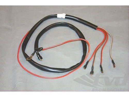 small resolution of rear wiper wiring harness 911 1978 89 fuse box to wiper motor