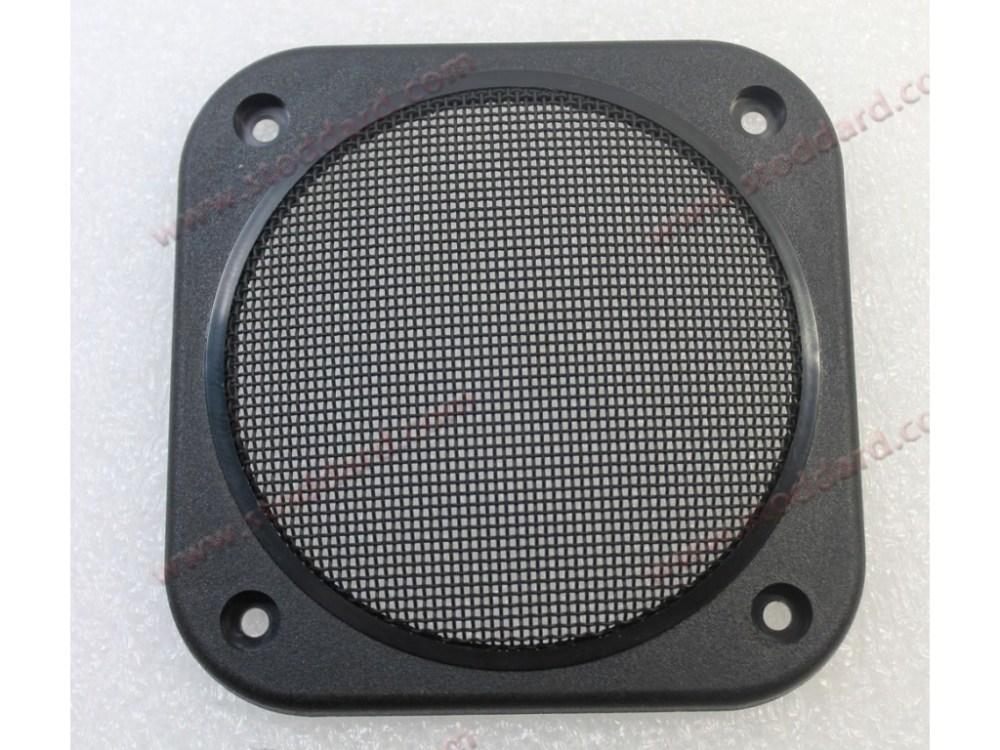 medium resolution of speaker grille