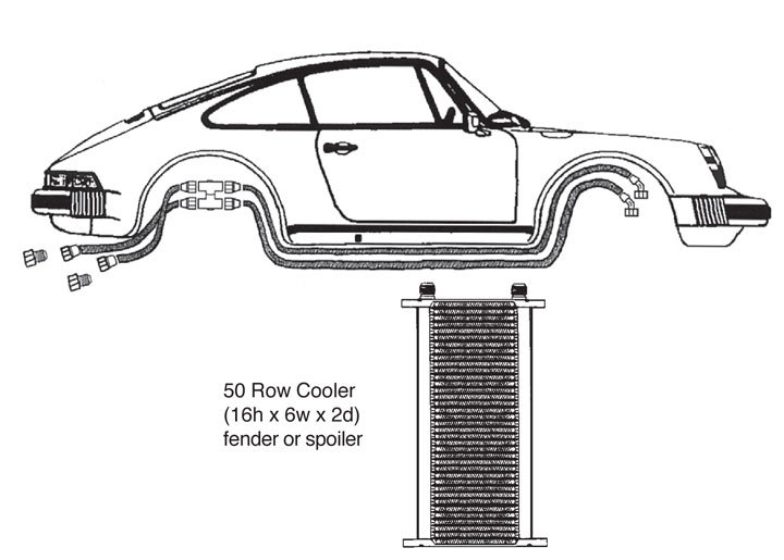 Porsche 944 Oil Cooler Parts Diagrams. Porsche. Auto