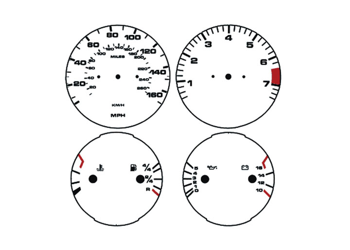 Porsche 944 1985-88 Factory and Replacement Gauges
