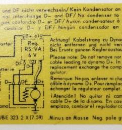 voltage regulator decal 356 replaces 64470100701 [ 1024 x 768 Pixel ]