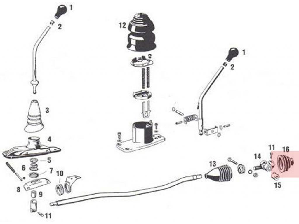 Porsche 944 Shift Boot Results