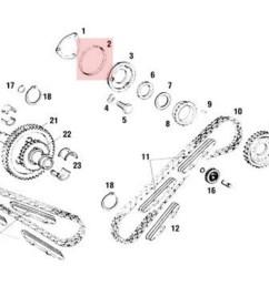dph camshaft throttle body o ring [ 1024 x 768 Pixel ]