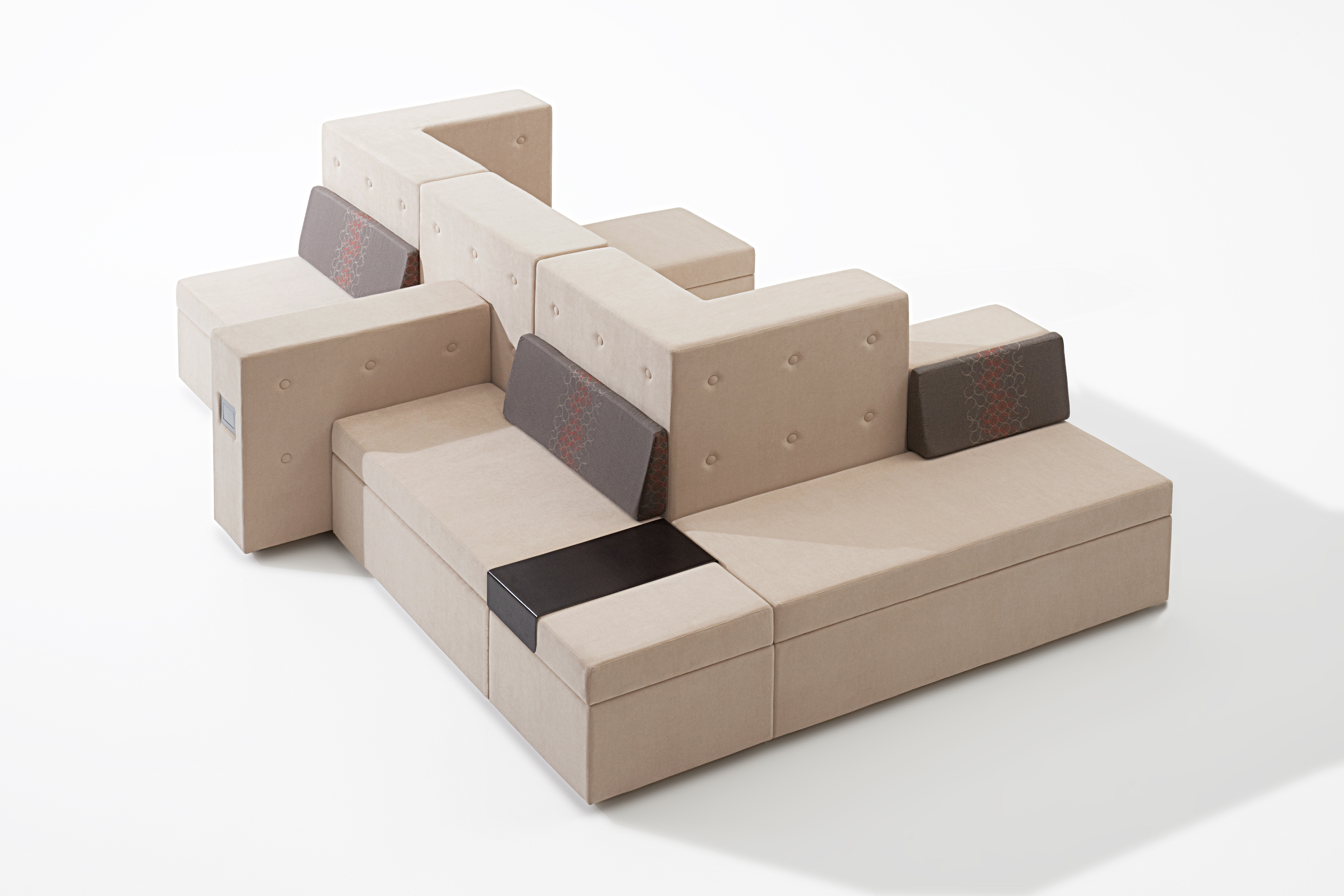 computer lounge chair slip cover for and a half modular furniture