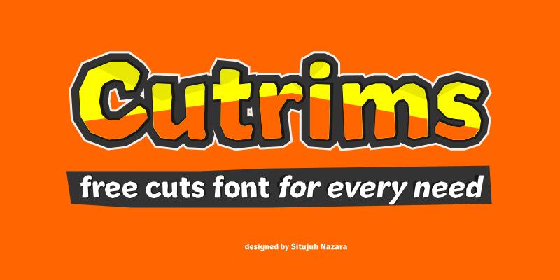 Cutrims Font by Situjuh Nazara