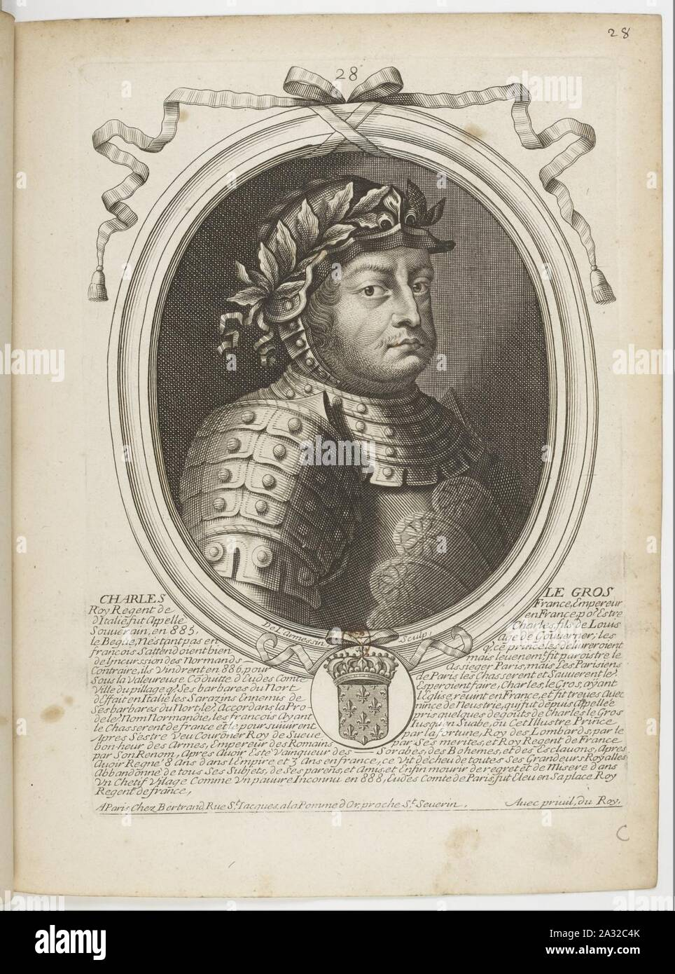 Charles Iii Le Gros : charles, Charles, Resolution, Stock, Photography, Images, Alamy