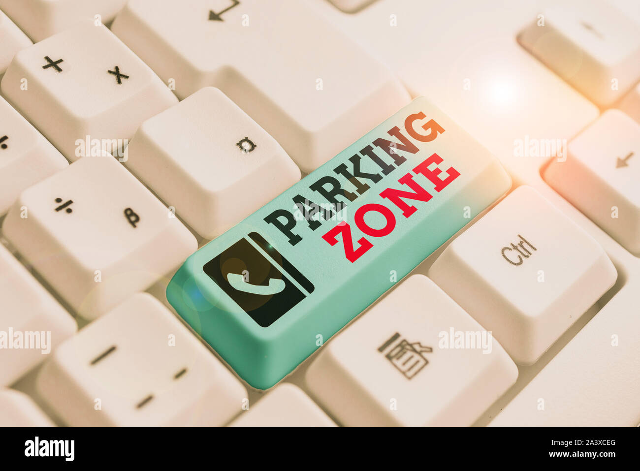 Text Sign Showing Parking Zone Business Photo Text A Space Where An Automobile Can Be Parked Allowed To Parked White Pc Keyboard With Empty Note Pape Stock Photo Alamy