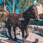 Horseshoe Horse Sculpture High Resolution Stock Photography And Images Alamy