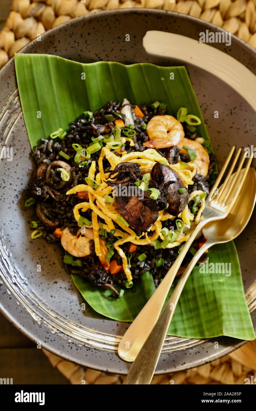 Masak Cumi Hitam : masak, hitam, Hitam, Resolution, Stock, Photography, Images, Alamy
