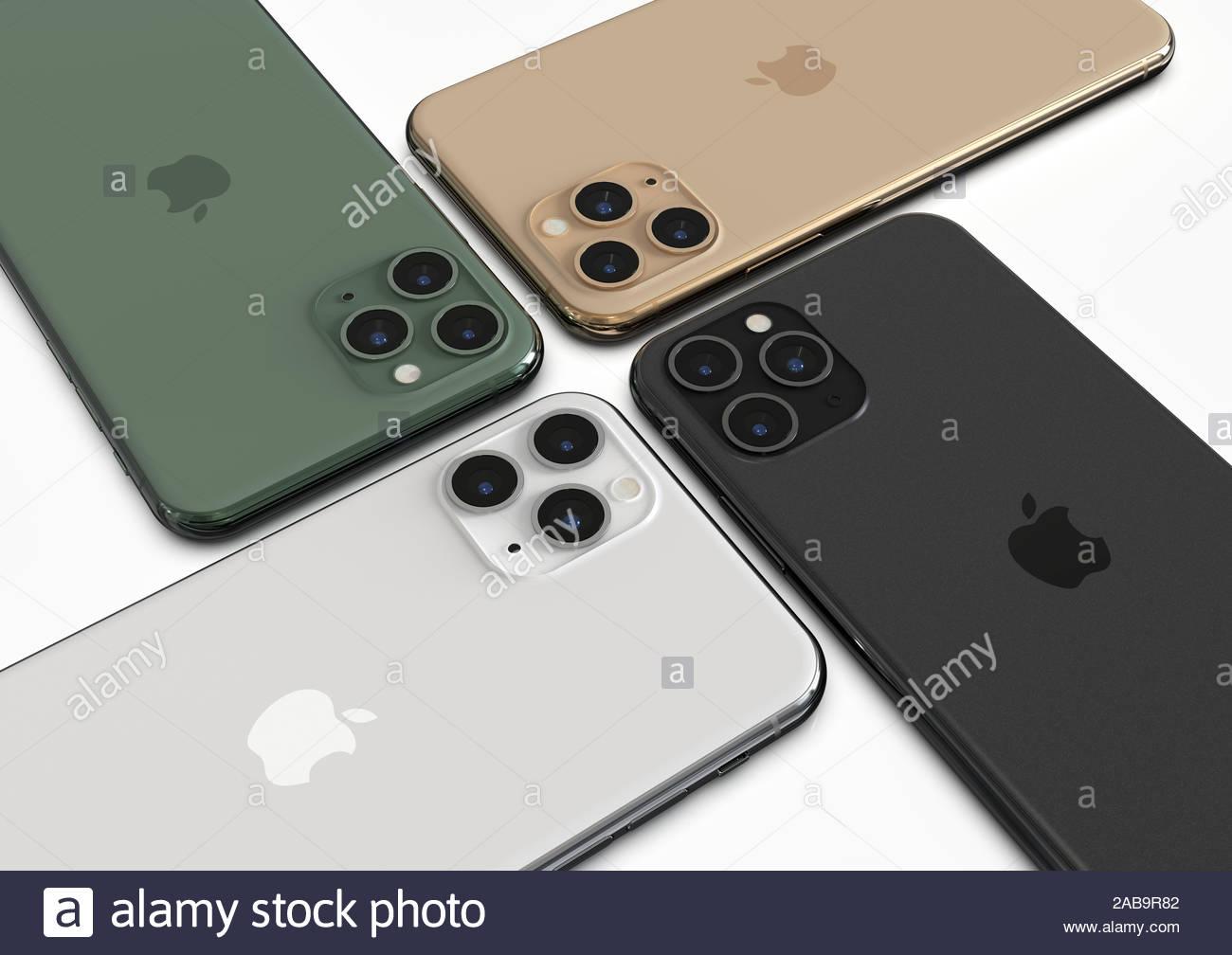 Bucharest Romania November 26 2019 Apple Iphone 11 Pro