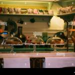 Interior Design Of A Counter In A Cozy Cafe Old Dishes And Furniture Create An Atmosphere Of Comfort In A Small Family Business Stock Photo Alamy