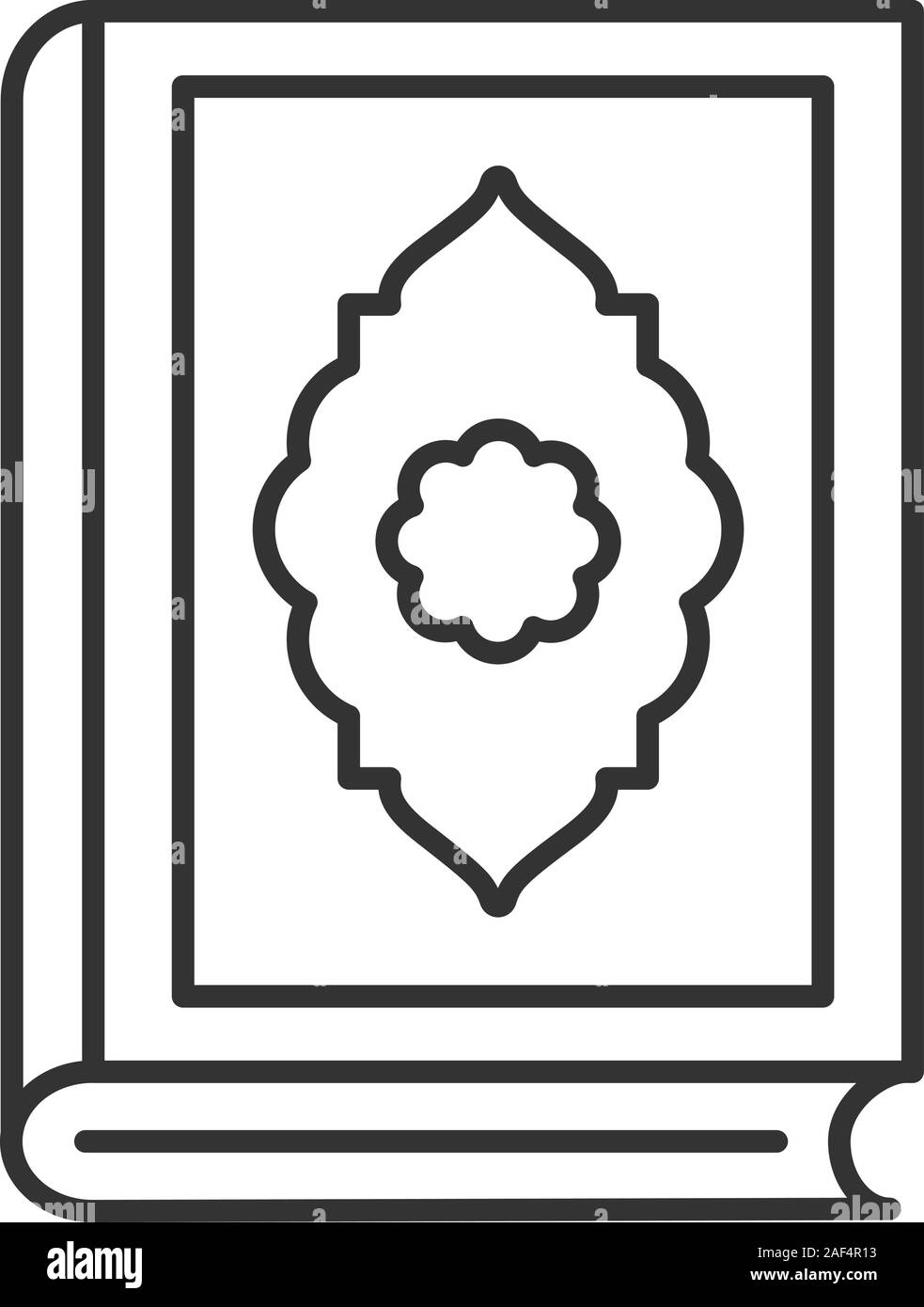 Logo Quran Vector : quran, vector, Quran, Linear, Icon., Illustration., Islamic, Religion., Koran., Contour, Symbol., Vector, Isolated, Outline, Drawing, Stock, Image, Alamy