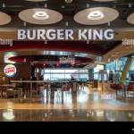 Burger King Fast Food Restaurant In Terminal 4s Of Madrid Barajas Adolfo Suarez Airport In Madrid Spain Stock Photo Alamy