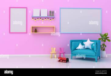 Kids Room Empty High Resolution Stock Photography and Images Alamy