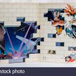 Photograph Of The Inside Of Album Cover Of The Wall By Pink Floyd In 1979 Stock Photo Alamy