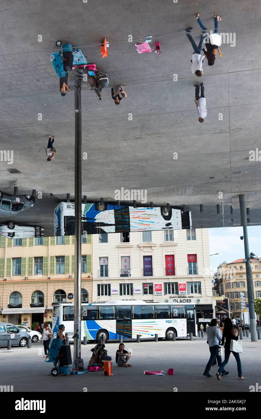 Quai De La Fraternité Marseille : fraternité, marseille, France,, Bouche, Rhone,, Marseille,, Fraternite,, Preau, Mirror, Meeting, Place, Entertainment, Stock, Photo, Alamy