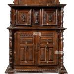 Italian Old Vintage Antique Buffet Sideboard Credenza Carved With Drawers Isolated On White Stock Photo Alamy