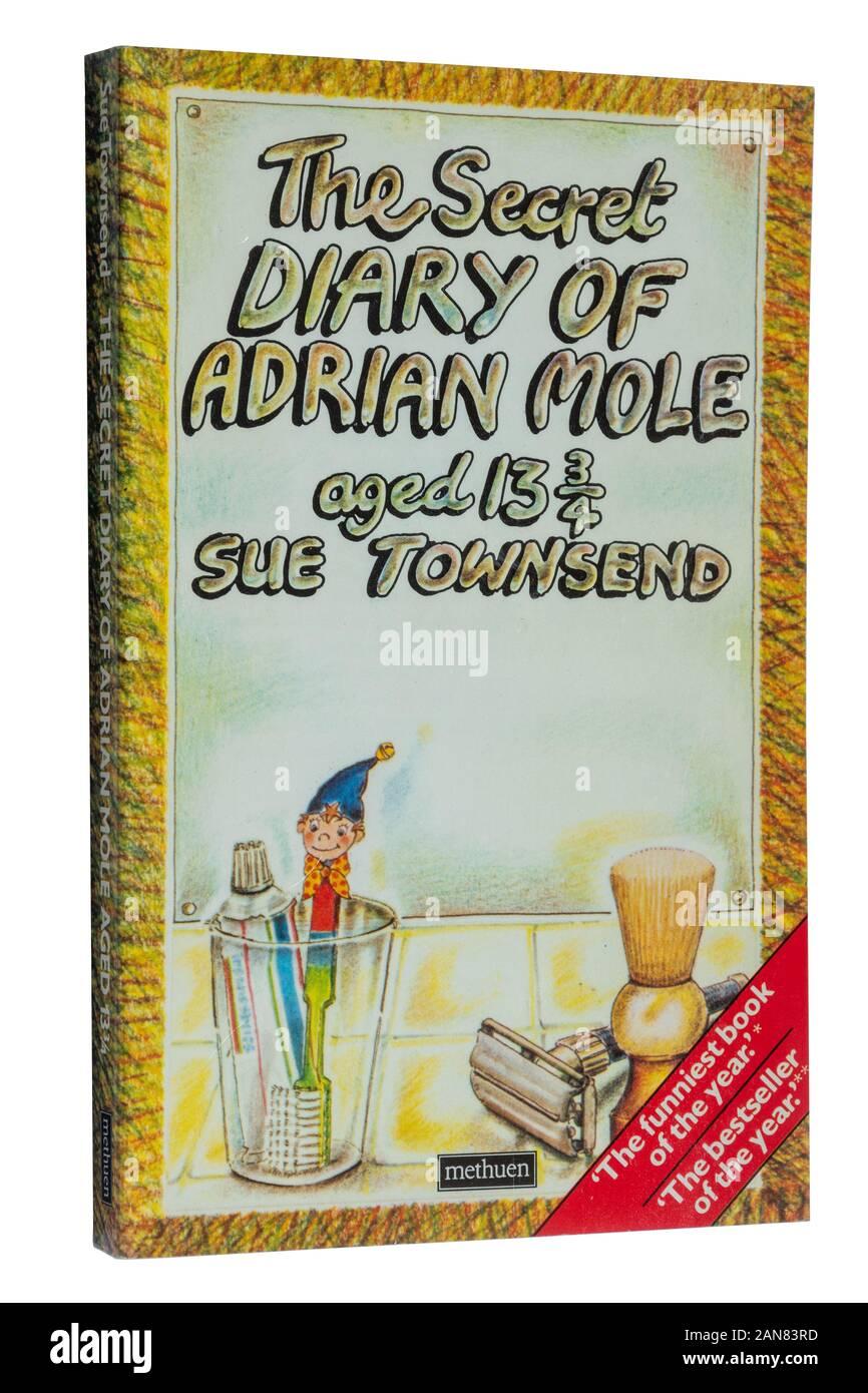 The Secret Diary Of Adrian Mole : secret, diary, adrian, Secret, Diary, Adrian, Three, Quarters,, Novel, Townsend., Paperback, Stock, Photo, Alamy