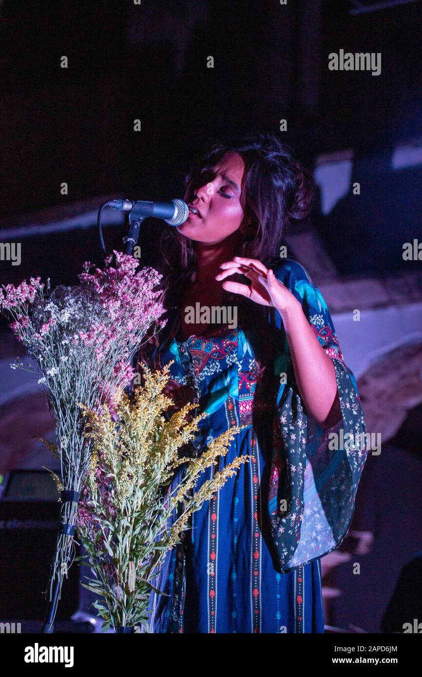Taina Song : taina, FARO,, PORTUGAL:, SEPTEMBER,, Taina, Singer,, Performs, Festival, Faro,, Portugal, Stock, Photo, Alamy