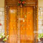 Old Indian Wooden House Doors High Resolution Stock Photography And Images Alamy