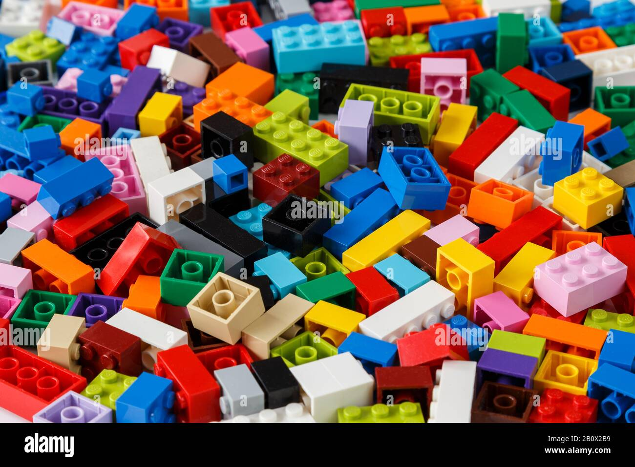 Pile Of Lego Bricks High Resolution Stock Photography And Images Alamy