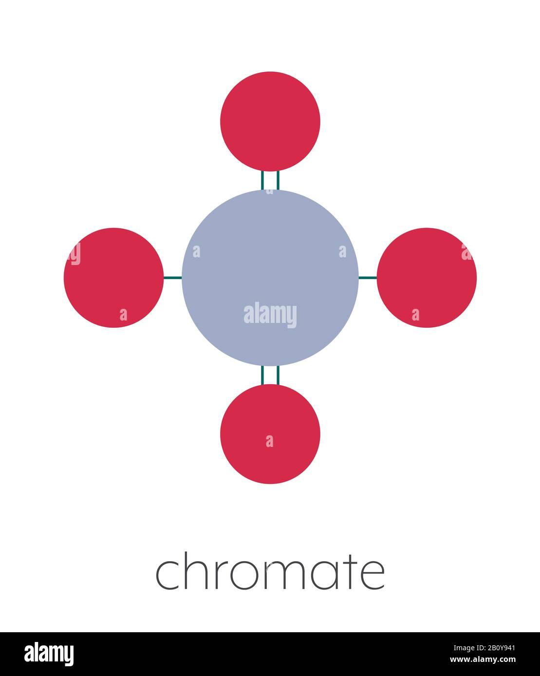 Chromate Anion Chemical Formula : chromate, anion, chemical, formula, Chromate, Molecular, Resolution, Stock, Photography, Images, Alamy