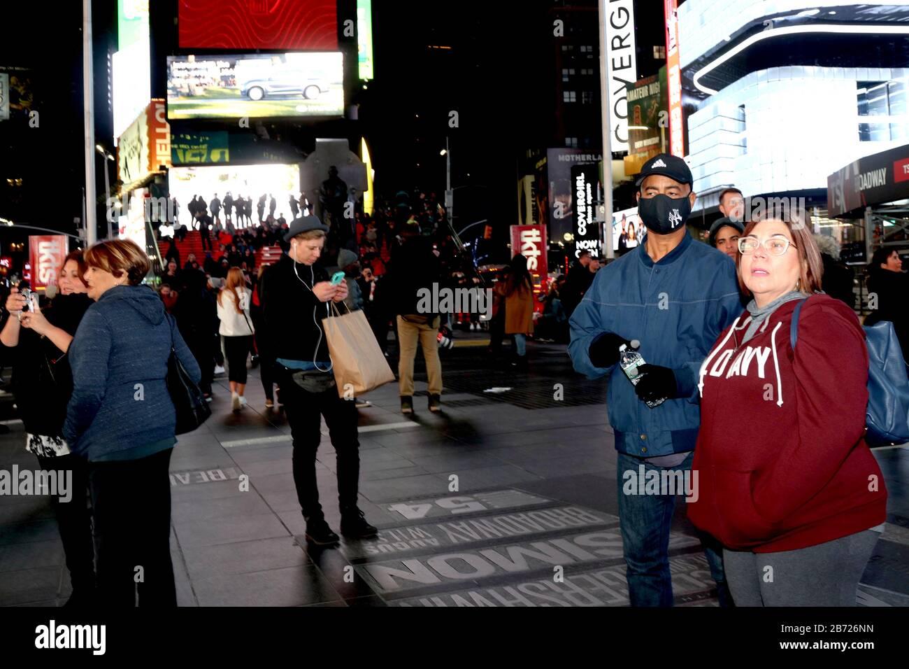 New York City, New York, USA. 12th Mar, 2020. New York City ...