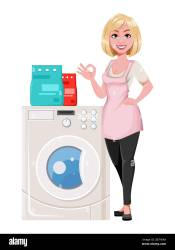 Cartoon Maid High Resolution Stock Photography and Images Alamy