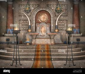 Throne Ancient Fantasy High Resolution Stock Photography and Images Alamy
