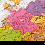 Europe Map Of Germany Stock Photo Alamy
