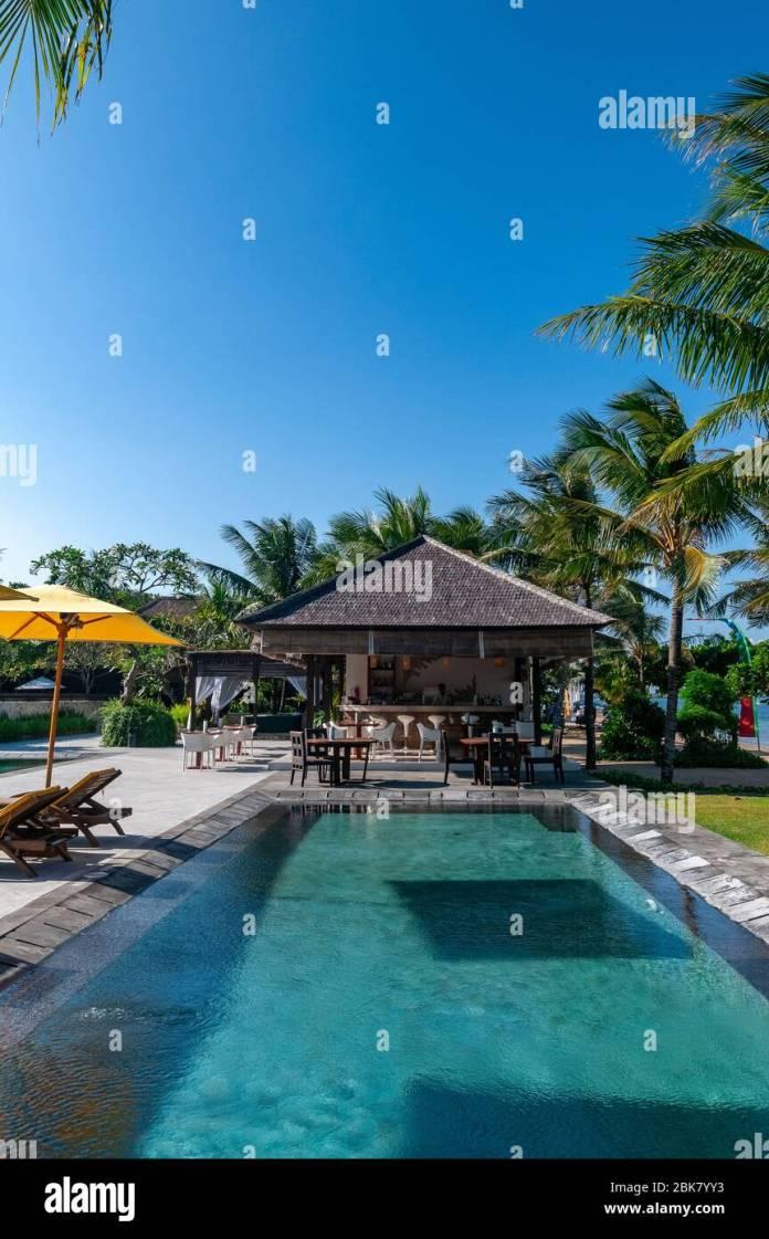 The Bali Khama Beach Resort And Spa Tanjung Benoa Bali Indonesia Stock Photo Alamy