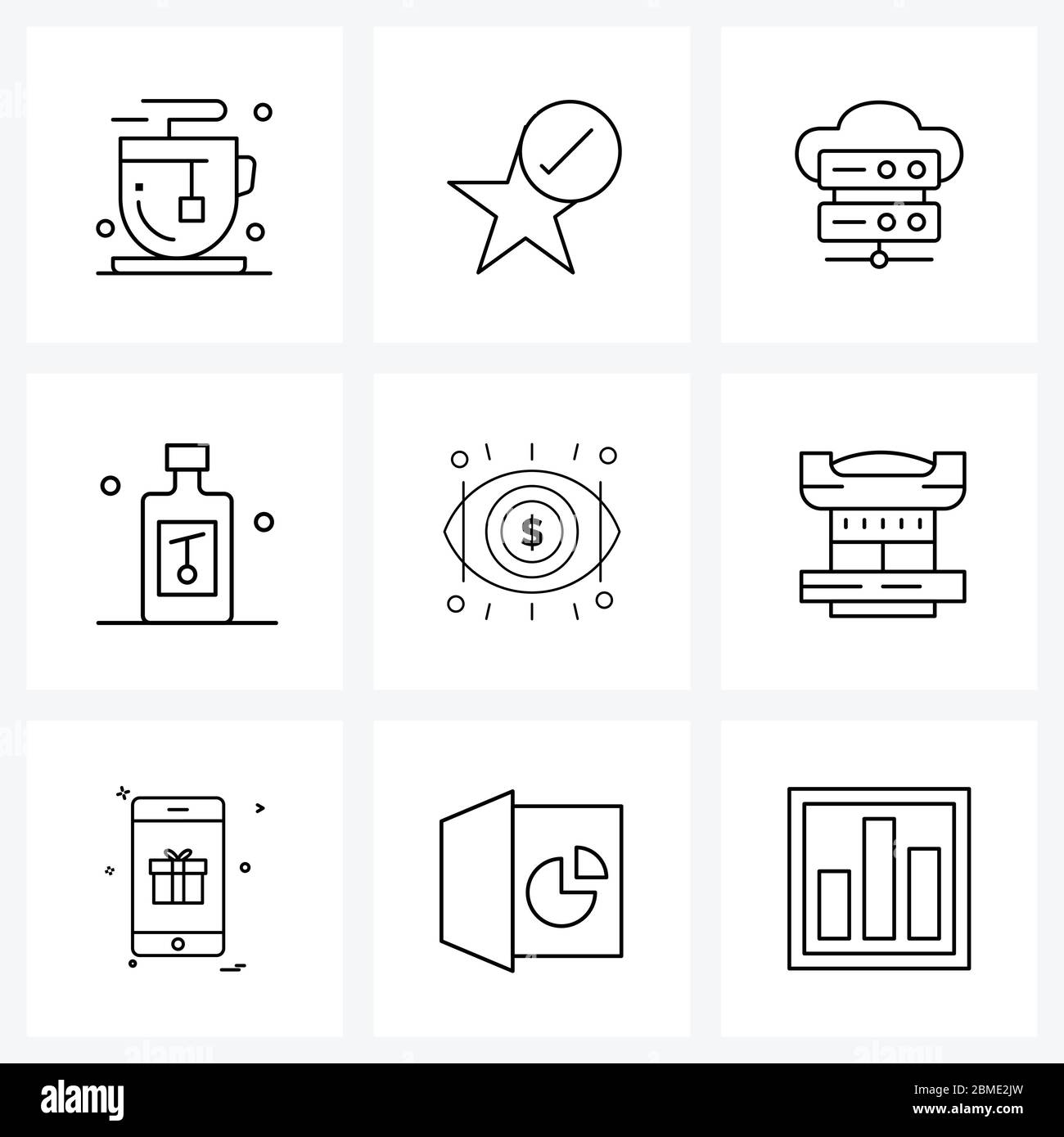 Discover 2 cloud kitchen logo designs on dribbble. Isolated Symbols Set Of 9 Simple Line Icons Of Olive Kitchen Cloud Food Web Vector Illustration Stock Vector Image Art Alamy