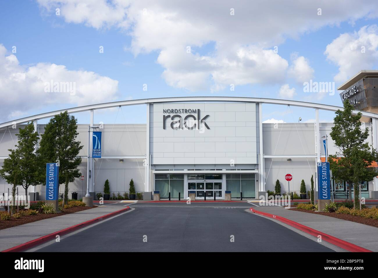 https www alamy com portland or usa may 6 2020 closed nordstrom rack store in northeast portland oregon during the coronavirus pandemic image357857480 html