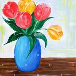 Flower Vase Painting Acrylic High Resolution Stock Photography And Images Alamy