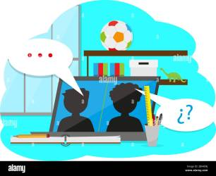Home study concept Online class Self learning Vector illustration Stock Vector Image & Art Alamy