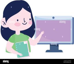 Female Studying Cartoon High Resolution Stock Photography and Images Alamy