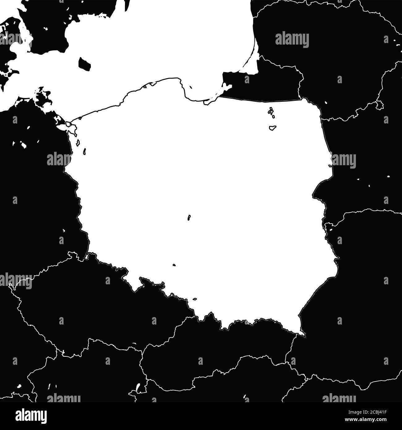 Page 3 Poland Map High Resolution Stock Photography And Images Alamy