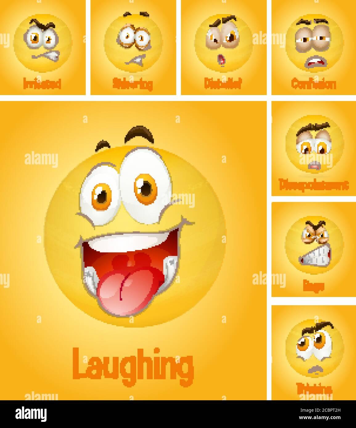 Thinking Emoji Glowing Eyes : thinking, emoji, glowing, Thinking, Emoji, Vector, Vectors, Resolution, Stock, Photography, Images, Alamy