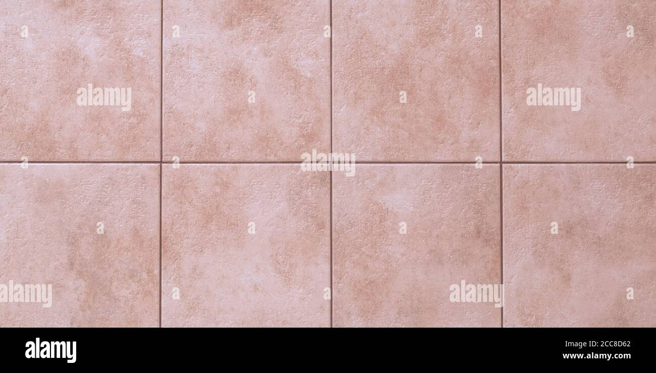 https www alamy com floor tiles texture abstract pattern of squares with pink ceramic tile marble wall background wallpaper light brown wide panorama great bathroom image368979578 html