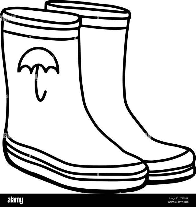 Rain Boot Black and White Stock Photos & Images - Page 29 - Alamy