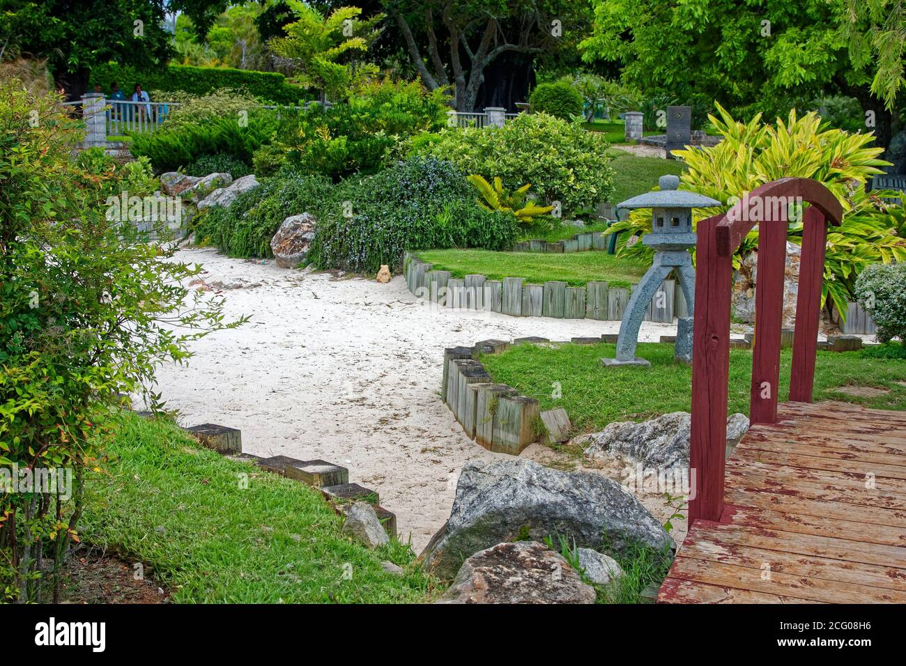 Zen Bridge Garden High Resolution Stock Photography And Images Alamy