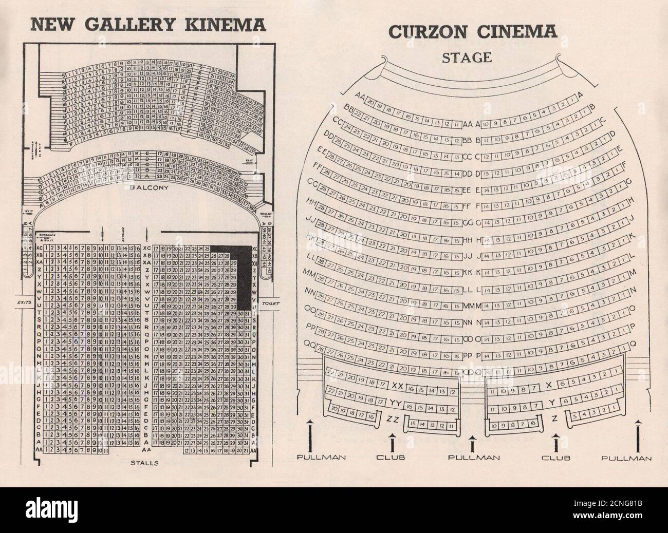 Regent Cinema High Resolution Stock Photography And Images Alamy