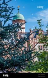 Beautiful fairytale castle of Wiligrad on a summer day Stock Photo Alamy