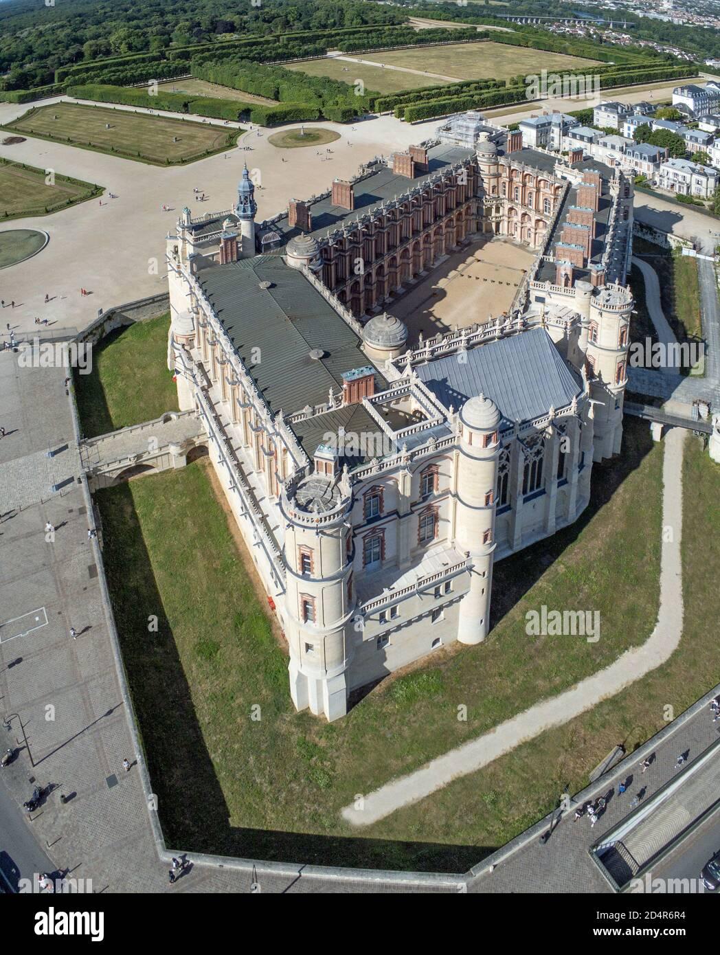 Château Neuf De Saint-germain-en-laye : château, saint-germain-en-laye, Saint, Germain, Chateau, Resolution, Stock, Photography, Images, Alamy
