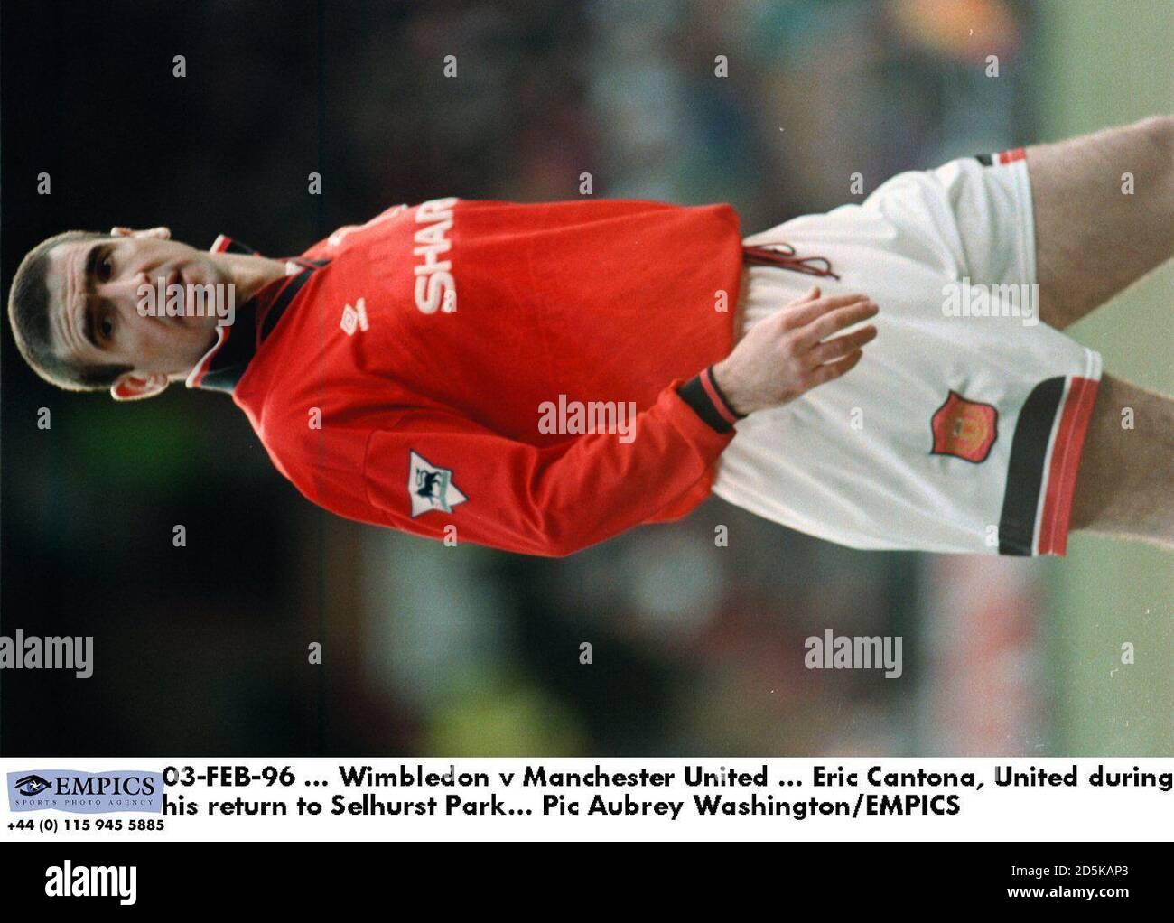 Han avslutade karriären i manchester. Wimbledon Eric Cantona High Resolution Stock Photography And Images Alamy