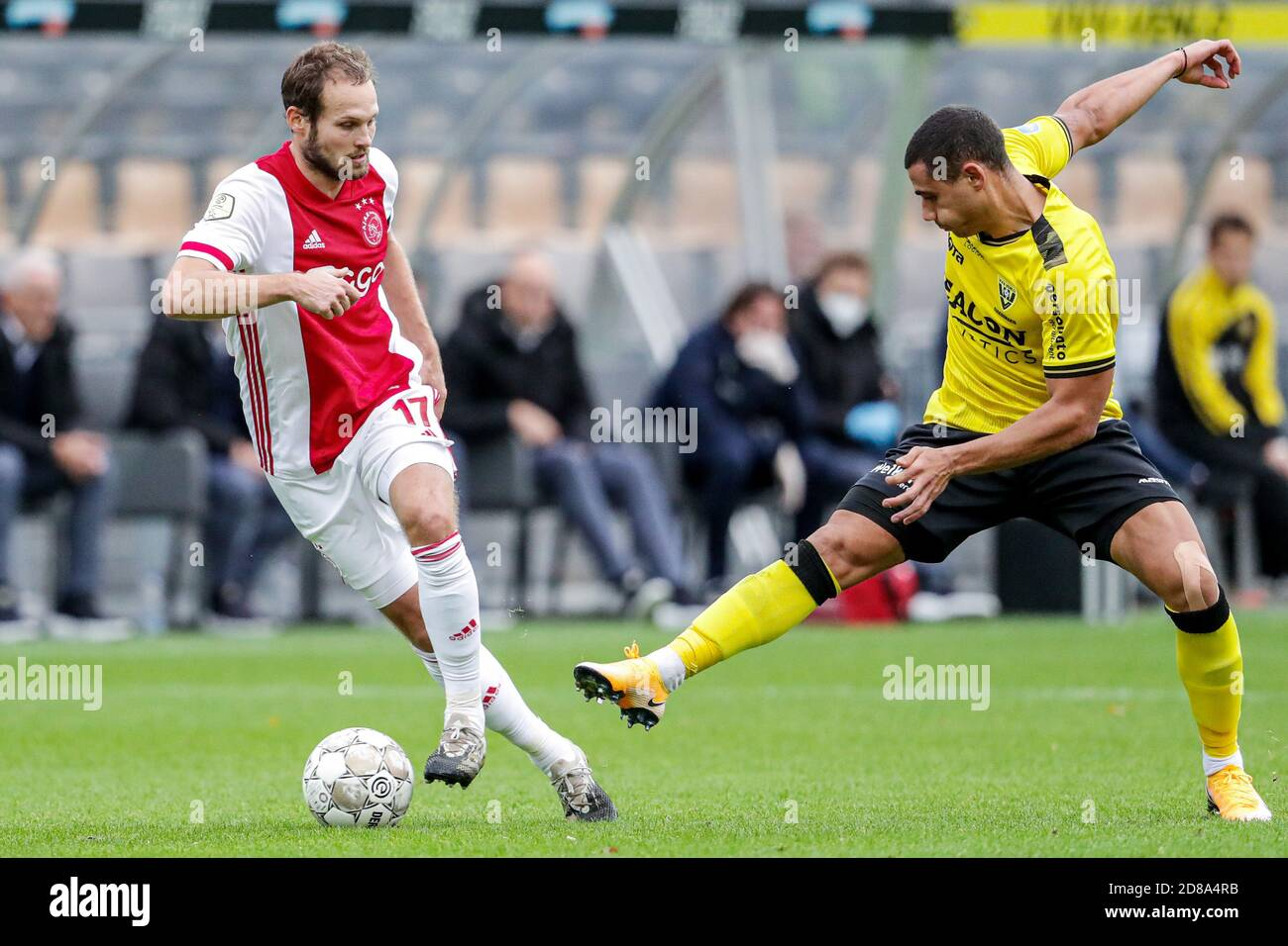 https www alamy com daley blind of ajax georgios giakoumakis of vvv venlo during the netherlands championship eredivisie football match between vvv venlo and ajax on o c image383768655 html