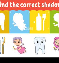 Match Shadow Puzzle Worksheet Kids High Resolution Stock Photography and  Images - Alamy [ 1007 x 1300 Pixel ]